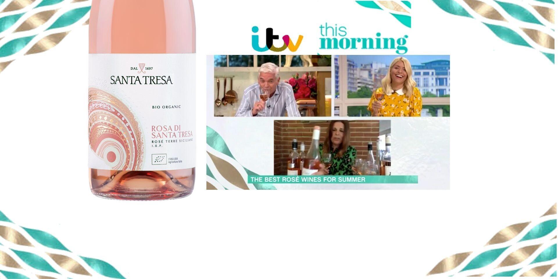 Rosa di Santa Tresa diventa una Star televisiva sulla TV britannica!