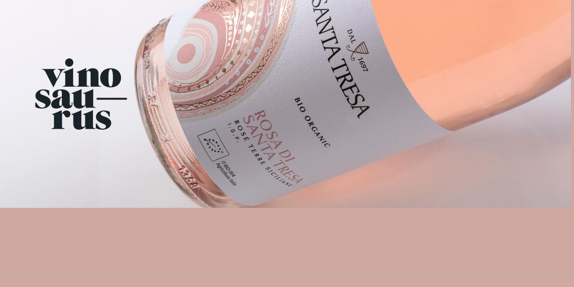 VINOSAURUS – Un rosé biologico che esprime la brillantezza del sole siciliano.