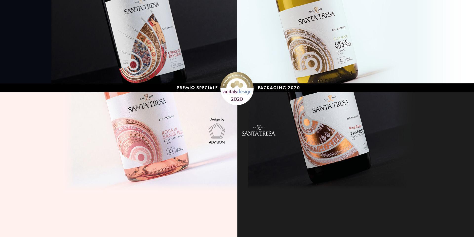 Santa Tresa Best Packaging of the year 2020!!!
