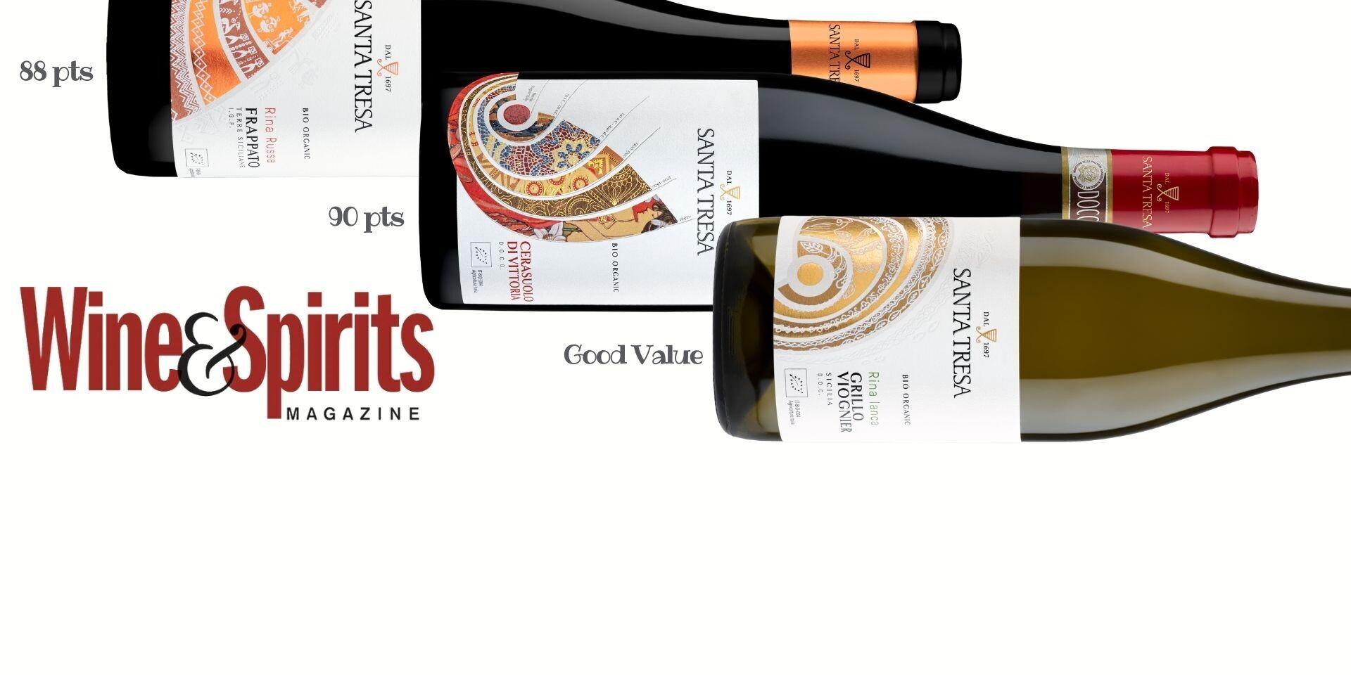Wine & Spirits USA | Santa Tresa scores