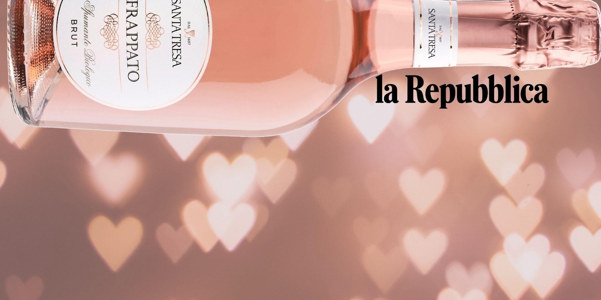 La Repubblica - Frappato Spumante - Le bollicine dell'amore