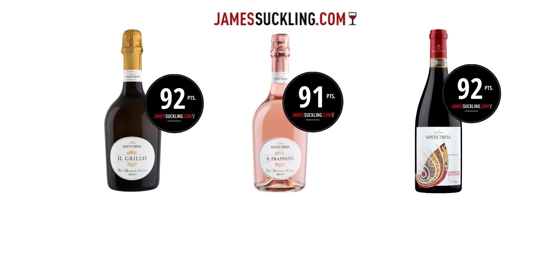 James Suckling - I punteggi